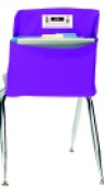 Seat Sack Large Storage Pocket With New Name Card Holder - 43cm x 25cm . - Grade 3 To 5 Purple