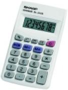 Sharp 8-Digit Basic Calculator - White