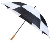 Conch Umbrellas 7862Black 150cm . Jumbo Golf Double Canopy Windproof Umbrella