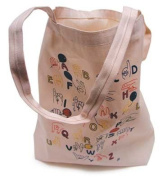 Harris Communications INT-TOTE2 Manual Alphabet Tote Bag