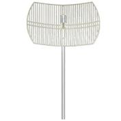 Hana Wireless HW-DCGD24-19NF 2.4-2.5GHz 19dBi Grid Dish Antenna