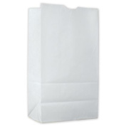 Deluxe Small Business Sales 60-SOSLG 11.13 x 15cm x 8.6cm . Food Service Waxed SOS Bags Kraft