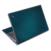 DecalGirl AC72-RHYTHMICBLUE Acer Chromebook C720 Skin - Rhythmic Blue