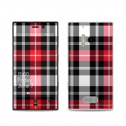 DecalGirl NL28-PLAID-RED Nokia Lumia 928 Skin - Red Plaid