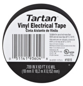 3M 1615 3/4 Tartan Vinyl Electrical Tape Flame Retardant