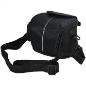 Black Camera Case Bag for CANON POWERSHOT SX410 IS SX530 HS SX500 IS SX510 HS G1