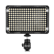 Aputure Amaran AL-H198C CRI 95+ 2014 Newest 198 LEDs Camera Video Light For Canon Nikon Sony Digital Camera DLSR Multiple Battery Options 0.6cm Hot Shoe Mount Brightness and Colour Temperature Adjusted Automatically with Carrying Bag