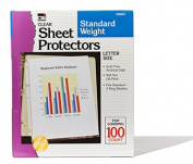 Charles Leonard CHL48241 Sheet Protectors Clear Box Of 100