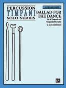 Alfred 00-88841X Ballad For Dance-Timpani Book