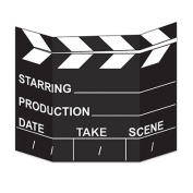 Beistle 54093 Movie Set Clapboard Photo Prop Pack Of 6