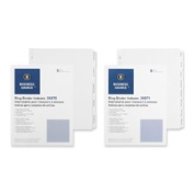 Business Source BSN20071 Plain Tab Indexes- 8-1-.60cm . Wide Tab- 28cm .x 8-.130cm .- WE