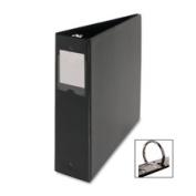 Business Source BSN28561 Round Ring Binder- w-Label Holder- 5.1cm . Cap.- 28cm .x 8-.130cm .- BK