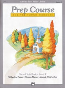 Alfred 00-6425 Basic Piano Prep Course- Sacred Solo Book F - Music Book