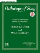 Alfred 00-38061 PATHWAYS OF SONG 3-HI-BK & CD