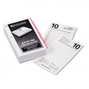At-A-Glance E717T50 One-Colour Daily Desk Calendar Refill with Monthly Tabs 3-1/2w x 6h