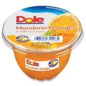 Dole DFC74206011 Fruit Cups 210ml 12-CT Mandarin Oranges