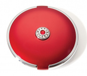 Brandon M-739 7X Normal Rhinestone Small Round Compact Ruby