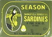 Sardine Clun Sknl Bnls -Pack of 25