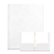 Roaring Spring Paper Products 54122 POCKETS & PRONGS 30cm . x 24cm . WHITE - Pack of 10