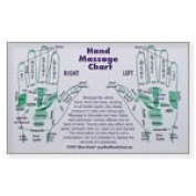 Frontier Natural Products 8050 Hand Reflexology Cards - Wallet
