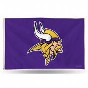 Rico Industries RIC-FGB3102 Minnesota Vikings NFL 7.6cm x 13cm Banner Flag