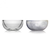 Amsterdam Glass Ice Bowl, Dessert Bowl, Double-walled, 290ml, Set of Two, FICE01042