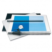 Wilson Jones. 2515665 Instant Report Kit 5/6 Spine Clear/Black