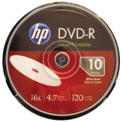 Hp DM16WJH010CB 4.7Gb 16X Printable Dvd Minus Rs Cake Box Spindle