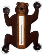 Songbird Essentials Climbing Black Bear Small Window Thermometer