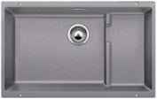 Blanco 519452 Precis Cascade Super Single Kitchen Sink - Metallic Grey
