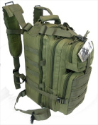 Explorer B3-OD 43cm . Multi Purpose Heavy Duty Backpack Olive Drab Green