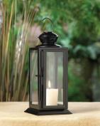 Zingz & Thingz 57071039 Tall Black Starlight Candle Lantern