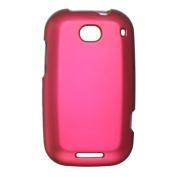 DreamWireless CRMOTBRAVOHP Motorola Bravo & MB520 Crystal Rubber Case Hot Pink