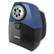 Elmerft.s Products Inc EPI1675 Pencil Sharper- Auto Shutoff- 18cm .x 8-.100cm .x 10-.130cm .- Black-Blue