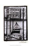 Old World Prints OWP30377D Waterways of Venice III Poster Print by Laura Denardo -13 x 19