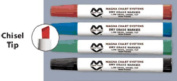 Magna Visual LCM Dry-Erase and Water-Soluble Markers - Chisel Point