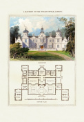 Buy Enlarge 0-587-04119-6P12x18 Mansion in the Stuart Style James I- Paper Size P12x18