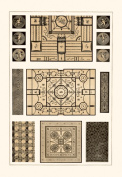 Buy Enlarge 0-587-09312-9P12x18 Painted Ceilings and Pavements from Pompeii- Paper Size P12x18