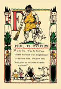 Buy Enlarge 0-587-07426-4P12x18 F for Fee Fi Fo Fum- Paper Size P12x18