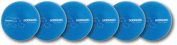 Olympia Sports BL279P Rhino Skin Dodgeballs - Neon Blue - Set of 6