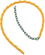 Olympia Sports PG433P Coated Swing Chain - 1.7m x .48cm . - Yellow