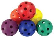 Olympia Sports HO139P Rainbow Hockey Balls - Set of 6