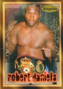Autograph Warehouse 84443 Robert Daniels Card Boxing 1996 Ringside No .15