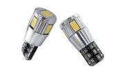 GP-Thunder W5W T10 194-168-2825 Canbus 6-LED SMD 5630 White Light Bulbs Wedge Base