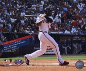 Photofile PFSAAMI08501 Jason Heyward 1st MLB Home Run with Overlay Sports Photo - 10 x 8