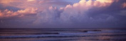 Panoramic Images PPI118713L Clouds over the sea Gold Coast Queensland Australia Poster Print by Panoramic Images - 36 x 12