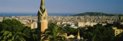 Panoramic Images PPI60295L High angle view of a city Barcelona Spain Poster Print by Panoramic Images - 36 x 12