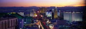 Panoramic Images PPI67398L The Strip Las Vegas Nevada USA Poster Print by Panoramic Images - 36 x 12
