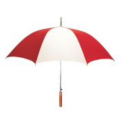 Peerless 2414IPR-Red-White Stick Umbrella Red And White