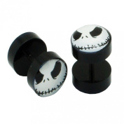 1 pair Fakeplugs Fake Plug Earrings Studs